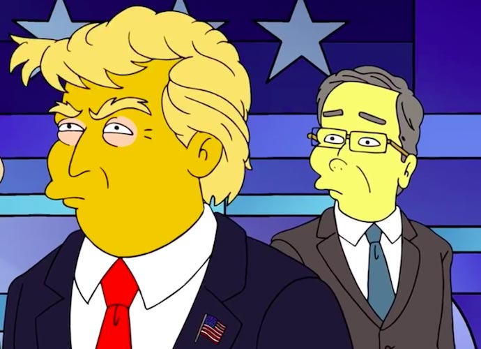 'The Simpsons' Mocks Donald Trump's First 100 Days In Office [VIDEO]