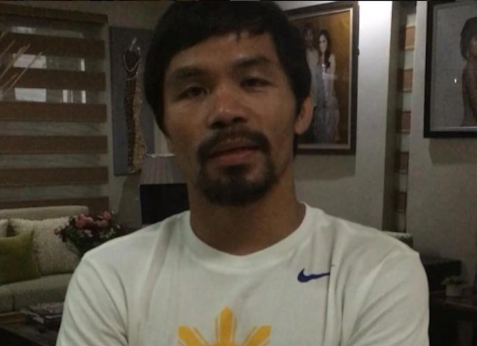 Manny Pacquiao Apologizes For Saying 'Gay People Are Worse Than Animals,' Reiterates Anti-Gay Stance