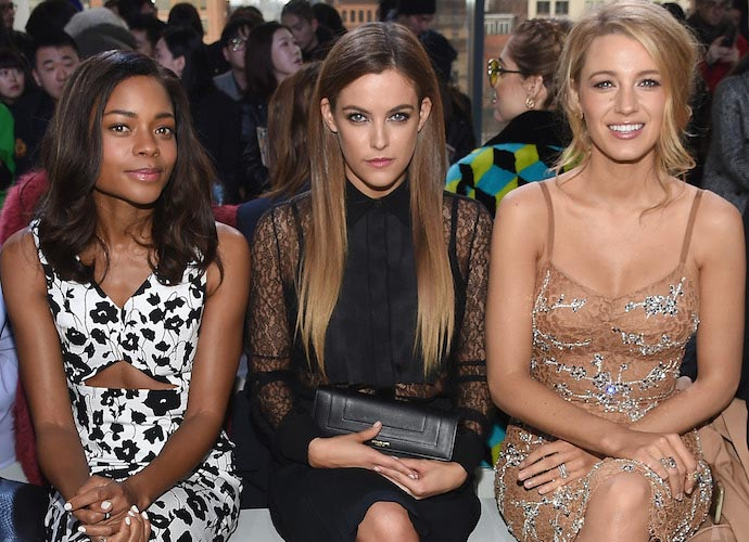 Blake Lively Refuses To Uncross Legs At Michael Kors NYFW Show