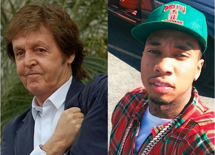 Paul McCartney Refused Entry At Tyga's Grammys Bash; Rapper Claims He Had Nothing To Do With It