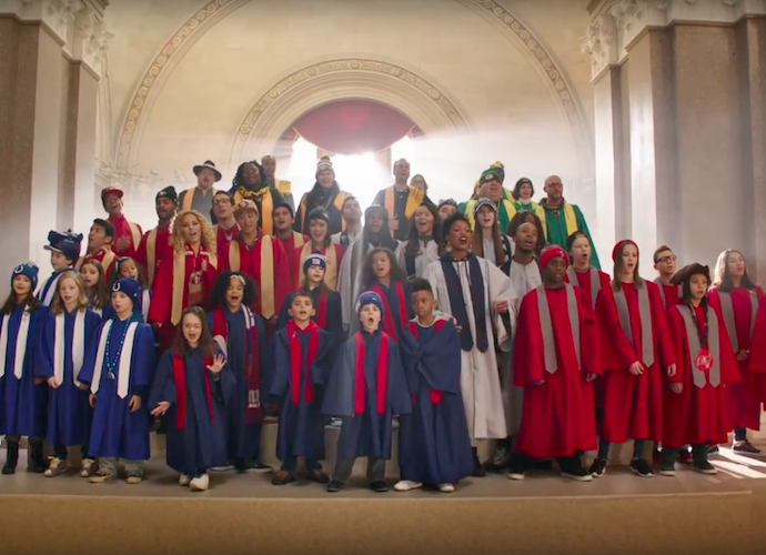 'Super Bowl Babies' Choir Sings 'Kiss From A Rose' Remix With Seal In Ad