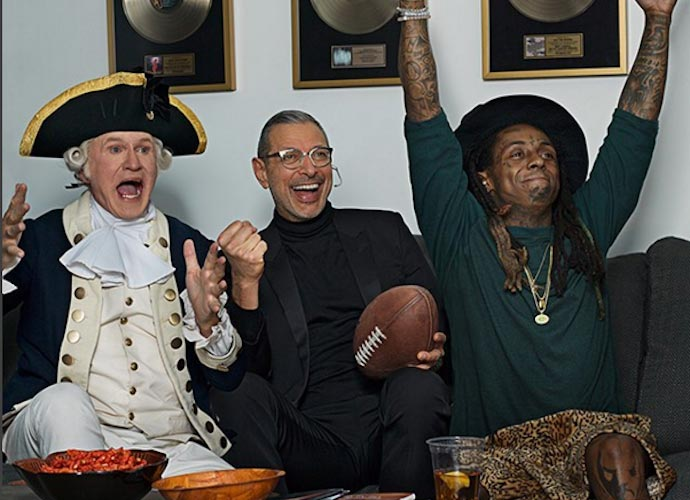 Jeff Goldblum & Lil Wayne Costar In Apartments.com Super Bowl Ad