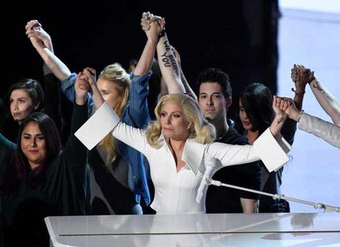 Joe Biden And Lady Gaga Reunite To Fight Sexual Assault With 'It's On Us' Tour