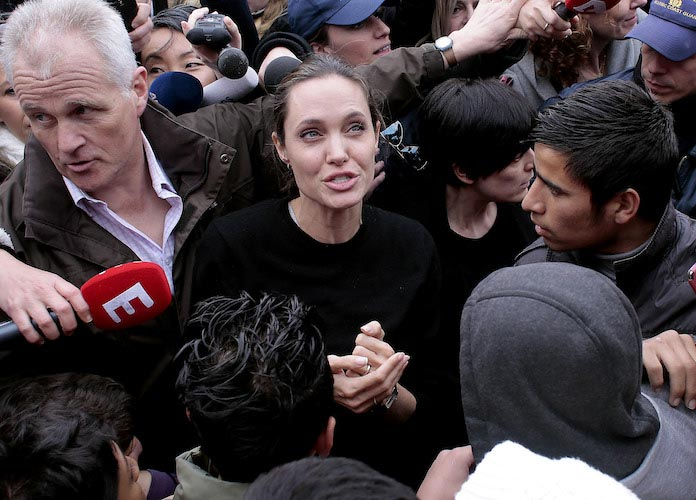 Angelina Jolie Writes Impassioned Op Ed About Refugees