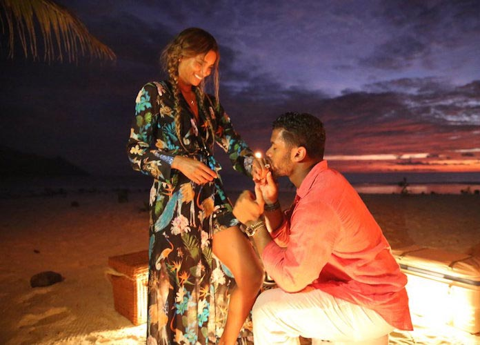 Ciara And Russell Wilson Got Engaged In Seychelles