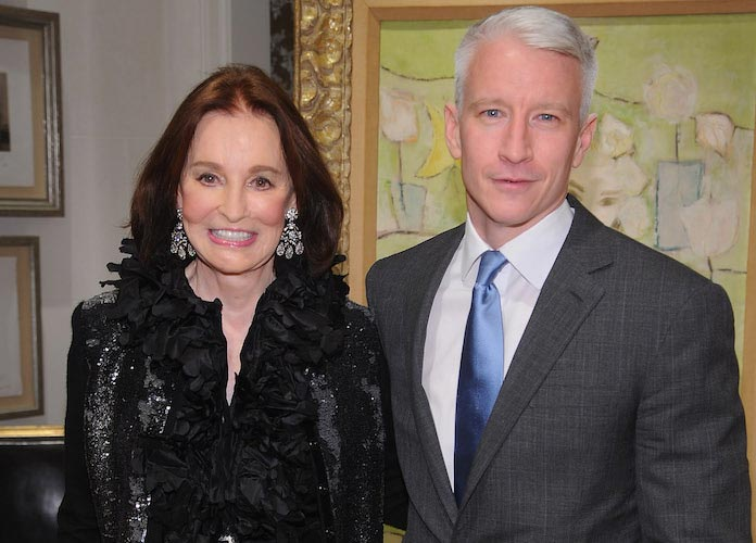 Anderson Cooper Will Not Receive Inheritance From Late Mother, Gloria Vanderbilt