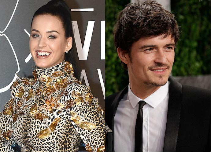 Katy Perry And Orlando Bloom Take Relationship Public At Hillary Clinton Concert Rally
