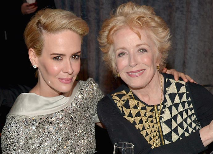 Sarah Paulson & Holland Taylor Unfazed By Criticisms Of Their Relationship For 32-Year Age Difference