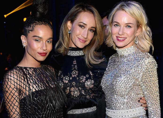 Zoe Kravitz, Maggie Q & Naomi Watts Hang Out At 'Allegiant' Premiere After Party
