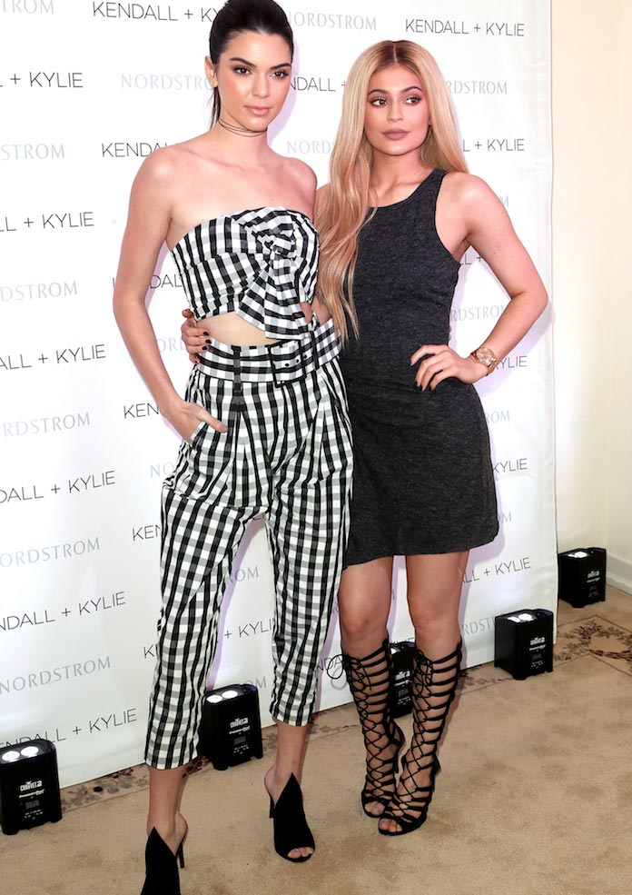 Kendall And Kylie Jenner Celebrate Kendall + Kylie Collection Launch At Nordstrom