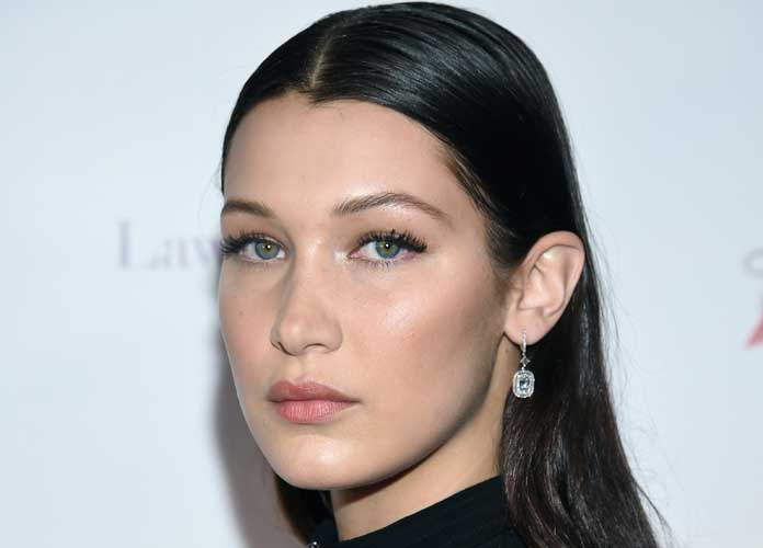 Bella Hadid Poses Topless For Mystery Photo Shoot