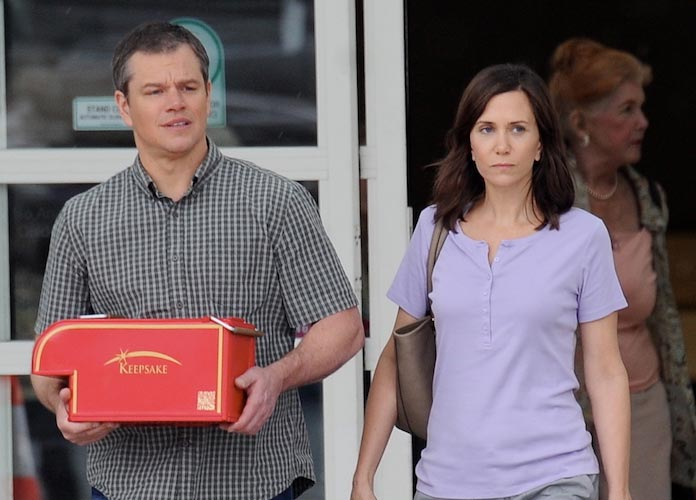 Matt Damon & Kristen Wiig Spotted Filming 'Downsizing'