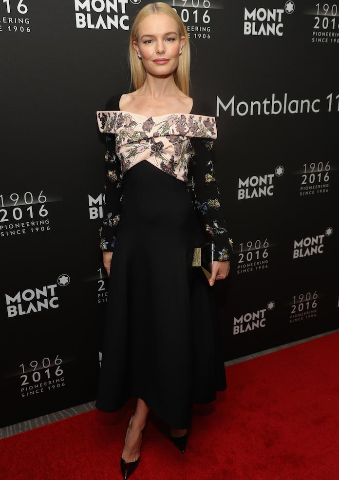 Kate Bosworth Stuns In Dior At Montblanc Anniversary Dinner