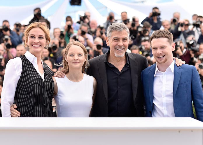 Julia Roberts, Jodie Foster, George Clooney and Jack O'Connell Attend 'Money Monster' Photocall At Cannes