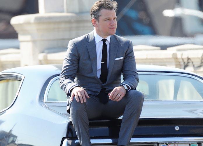 Matt Damon Poses For 'GQ' Photoshoot In LA