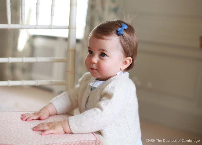 Princess Charlotte Pictures Released For First Birthday