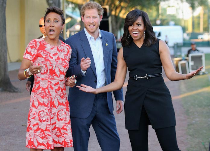 Prince Harry And Michelle Obama Talk To Robin Roberts Ahead Of Invictus Games