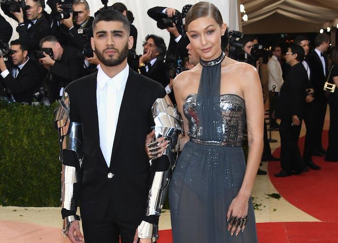 Zayn Malik And Gigi Hadid Make Red Carpet Debut At Met Gala 2016