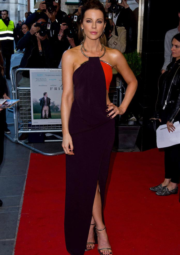 Kate Beckinsale Looks Chic At 'Love And Friendship' Premiere