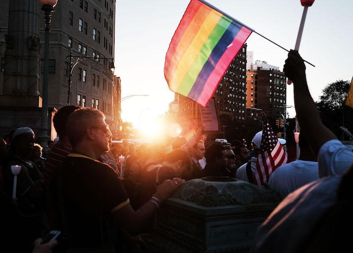 Rainbow Lights To Jacksonville Bridge For Gay Pride, Gov. DeSantis Denies Removing Them