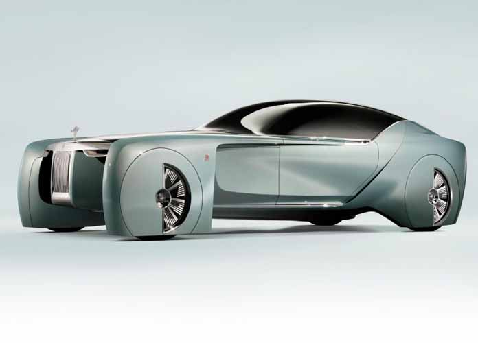 Rolls-Royce Reveals Future Self-Driving Vehicle 'Vision Next 100'