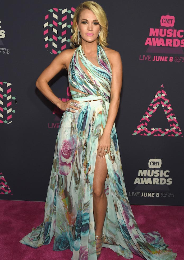 CMT Music Awards Best Dressed: Carrie Underwood, Erin Andrews & More