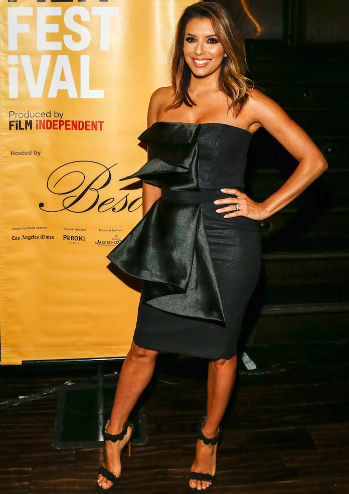 Eva Longoria Wears Vatanika To LA Film Festival Opening Night
