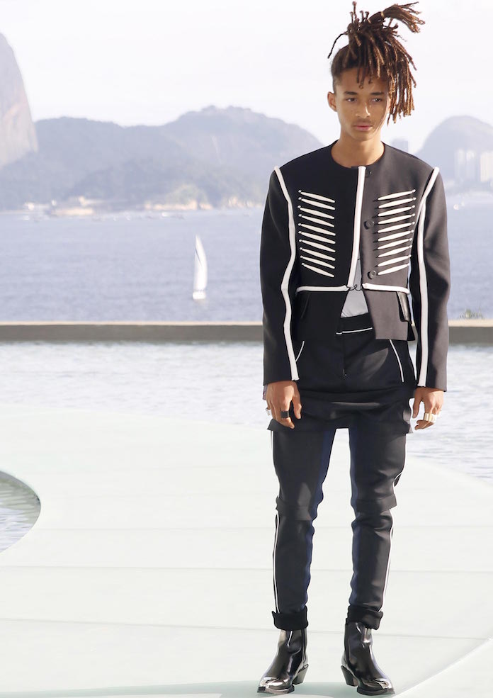 Jaden Smith Models Louis Vuitton In Brazil