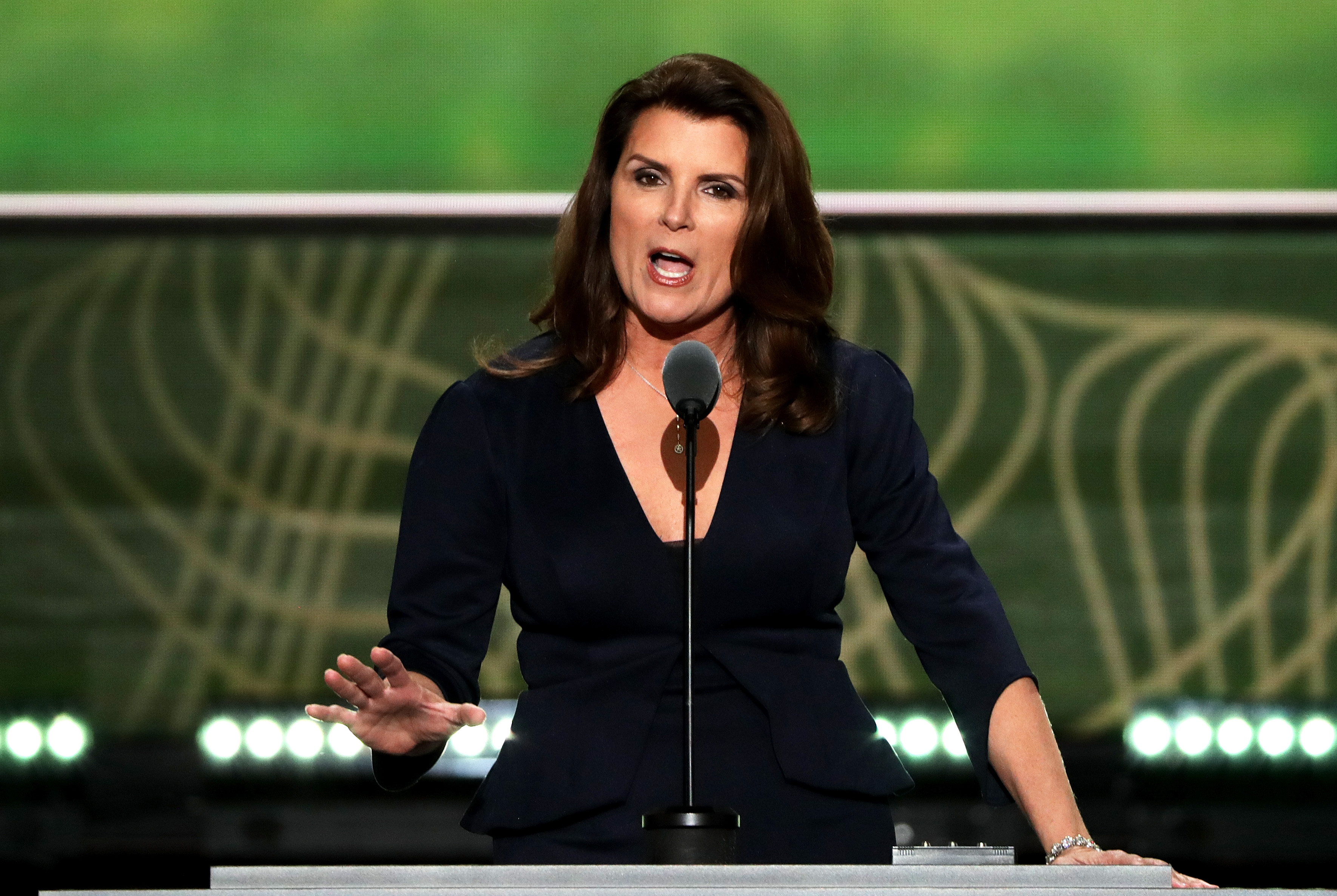 Kimberlin Brown, Former 'Young & The Restless' Star, Speaks At RNC