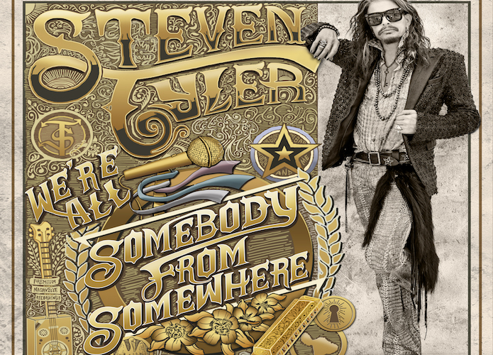 'We're All Somebody From Somewhere' By Steven Tyler Album Review: Intriguing Premise But Poor Realization