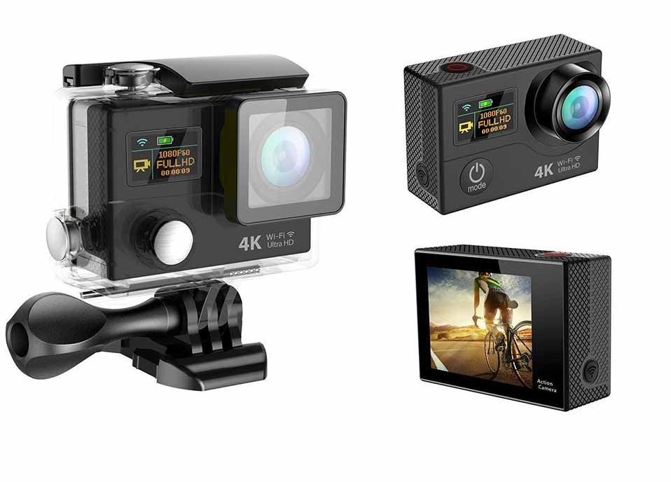 Eken H3 Camera: 4k, Waterproof, Wi-fi Enabled To Compete With GoPro