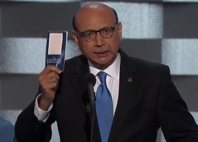 Khizr Khan, Father Of Muslim Soldier Killed In Iraq, Slams Donald Trump At DNC