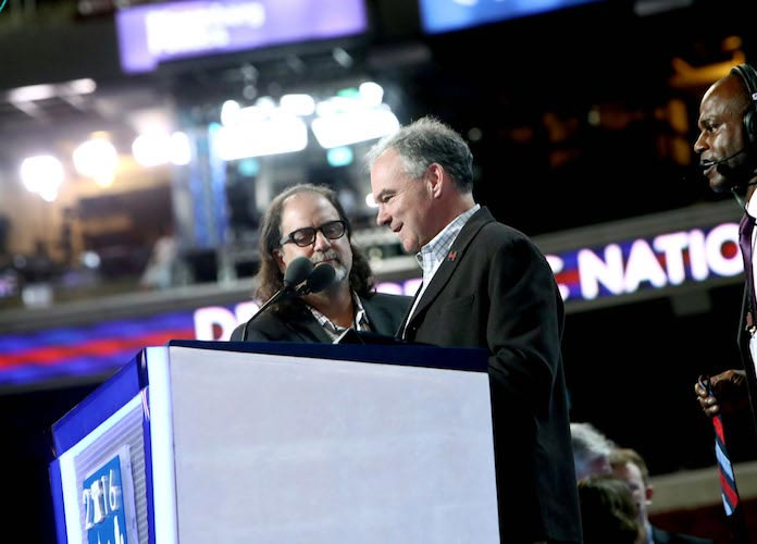 Sen. Tim Kaine's Son, Woody Kaine, Faces Charges For Disrupting Trump Rally