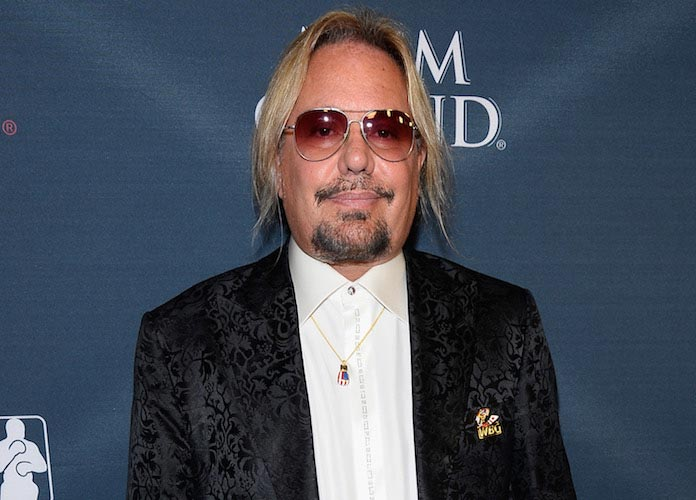 Vince Neil, Motley Crue Frontman, Charged With Battery