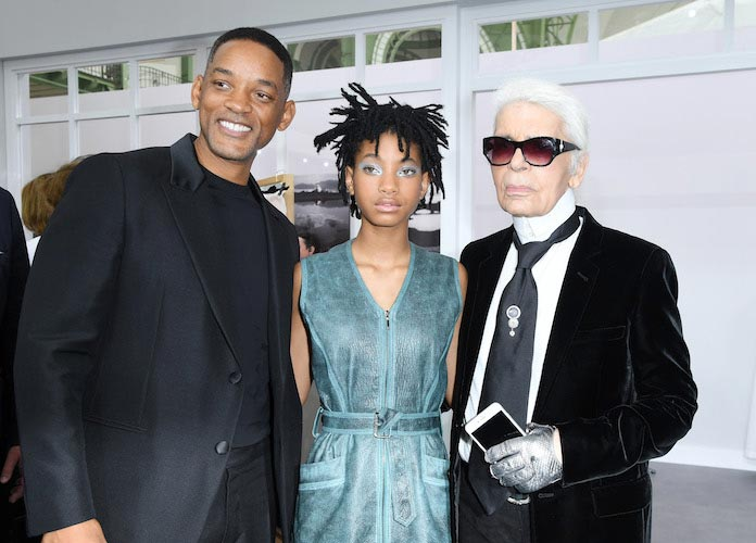 Willow Smith Brings Dad Will Smith To Chanel Show
