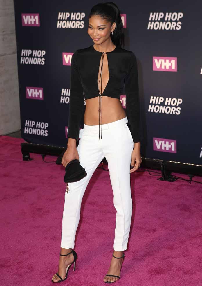 Get The Look: Chanel Iman's Chic Crop Top