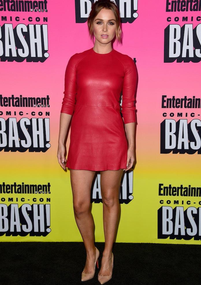 Camilla Luddington Wore ThePerfext Dress To Comic-Con Party