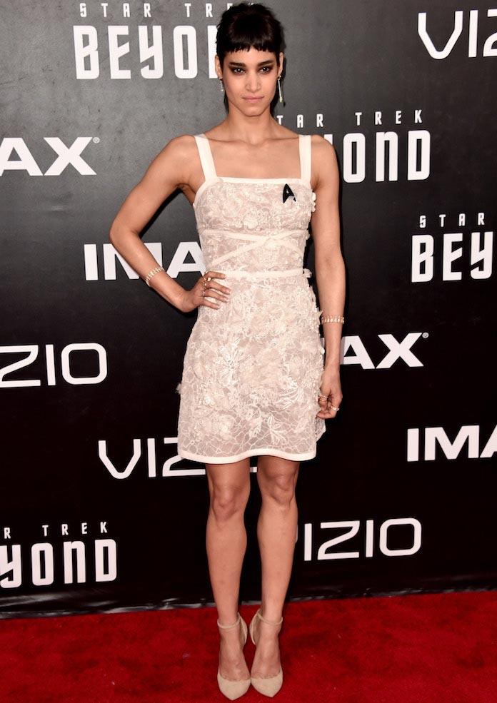 Sofia Boutella Wows In Elie Saab At 'Star Trek Beyond' Premiere