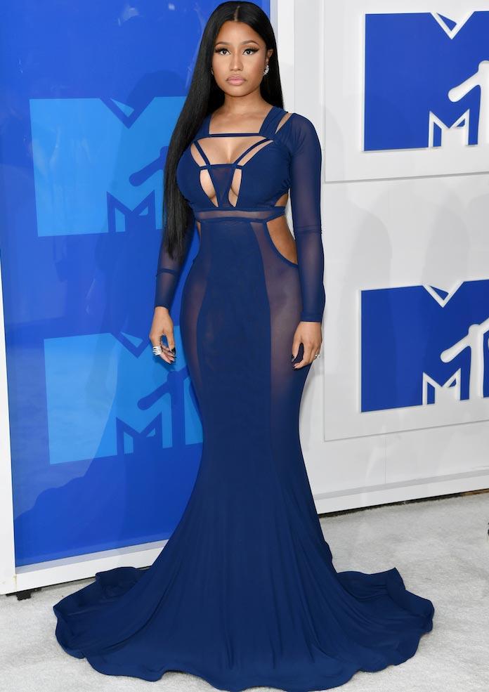 Nicki Minaj at the 2016 VMAs (Getty)