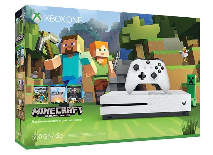 Xbox One S 'Minecraft' Favorites Bundle: Get Creative!