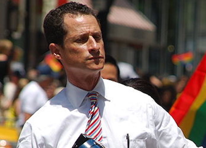Anthony Weiner's New Sexting Scandal Allegedly Involves 15-Year-Old Girl