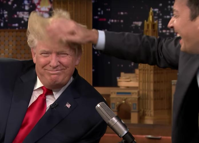 Jimmy Fallon Spoofs Donald Trump Press Conference [VIDEO]