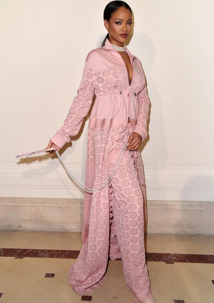 Rihanna Launches Fenty x Puma At Paris Fashion Week