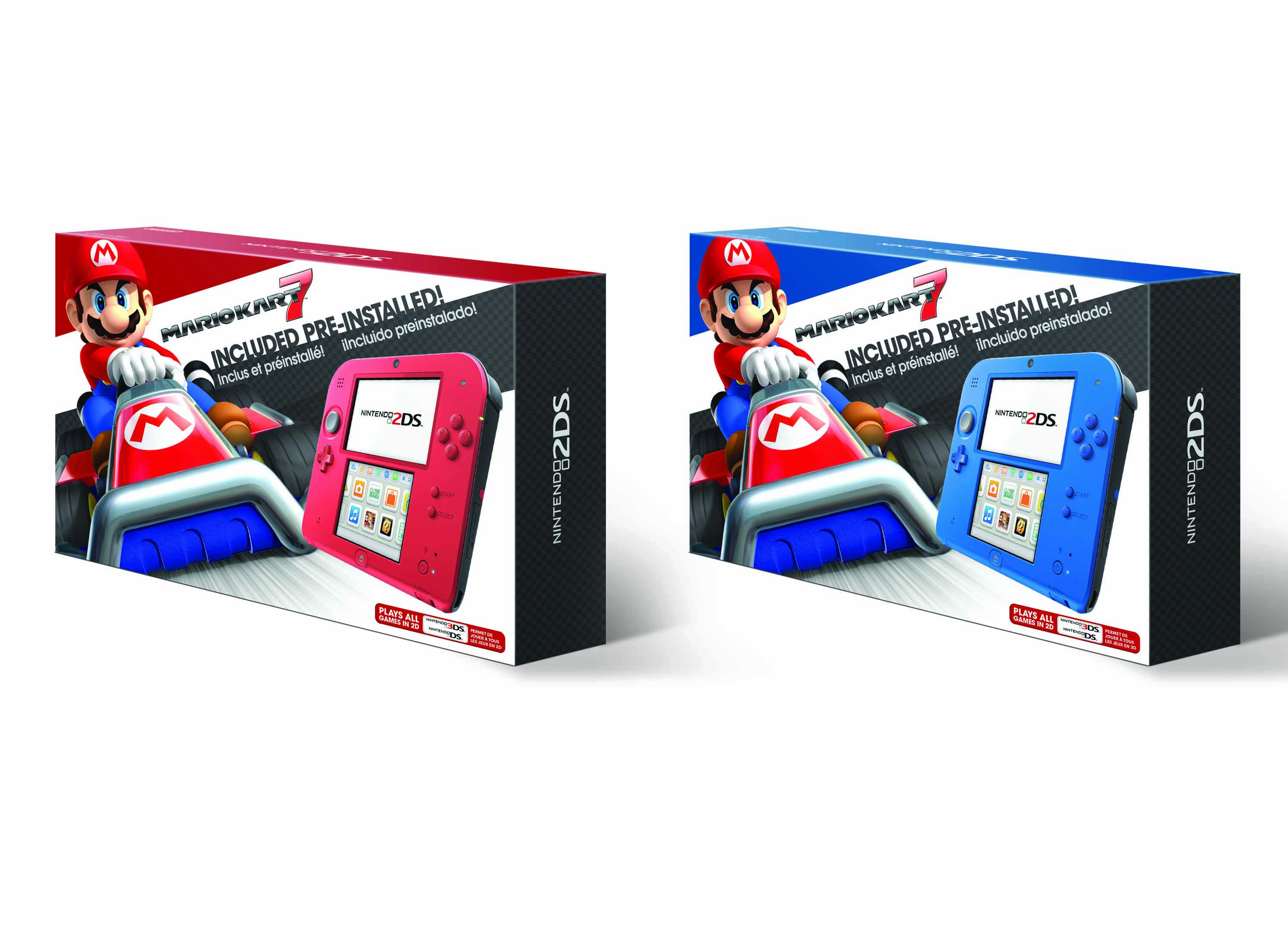 Nintendo 2DS Is Getting Its Colors Swapped Next Month
