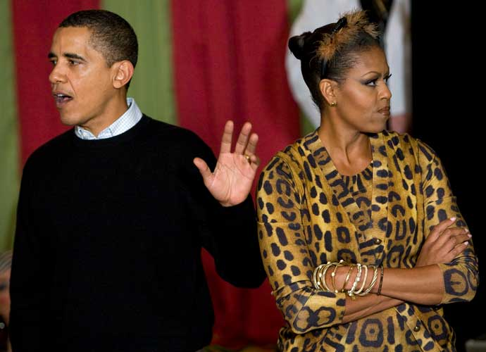 Barack & Michelle Obama Seen Dancing At Beyonce & Jay-Z Concert In Washington, D.C.