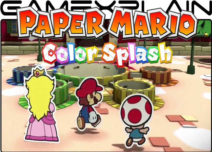 'Paper Mario Color Splash' Game Review: A Masterfully Designed World