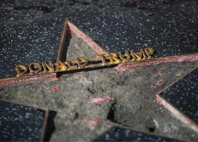 Donald Trump's Hollywood Star Destroyed With Sledgehammer, Jamie Otis Is In Custody