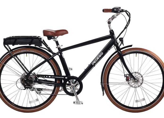 Pedego City Commuter eBike Combines Pedal Assist And A Twist Throttle