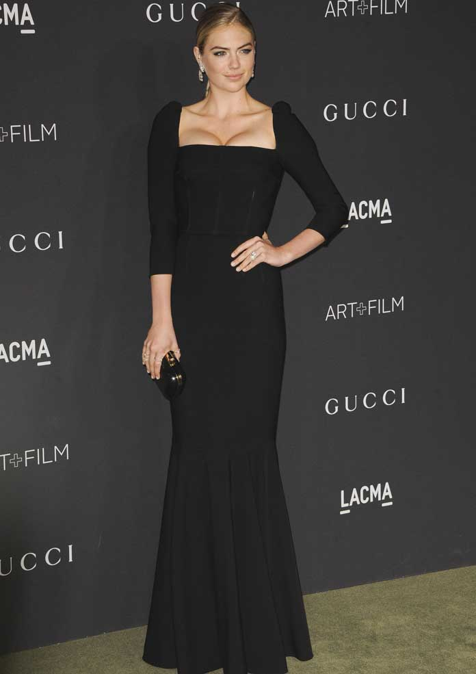 Kate Upton Looked Chic With Fiance Justin Verlander At Annual LACMA Gala
