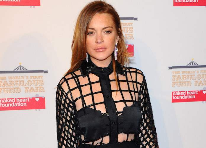 Lindsay Lohan Clarifies Supportive Comments About Harvey Weinstein